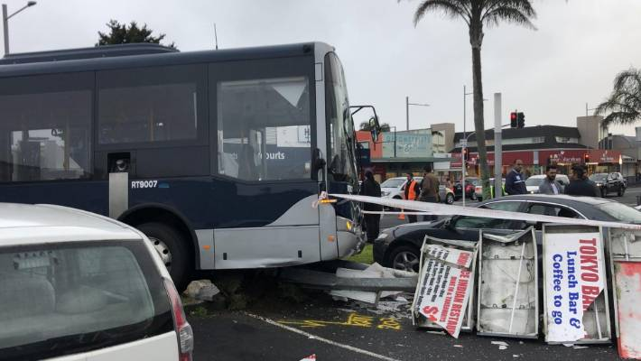 Since last July Auckland buses have been involved in more than 40 accidents where they hit pedestrians, objects, or other vehicles.