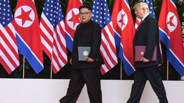 Trump says he's confident Kim will denuclearize