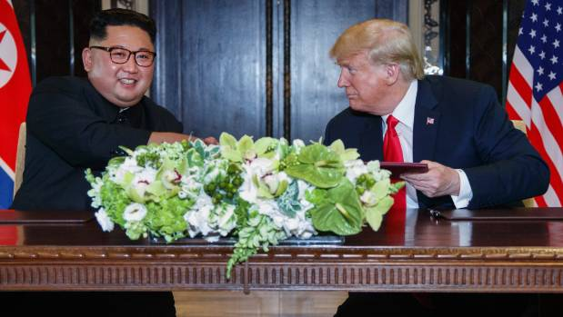 Trump says Singapore summit ended N Korea nuclear threat