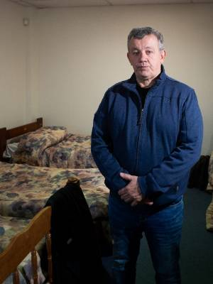 Hamilton Christian Nightshelter manager Peter Humphreys says the shelters are at full capacity.