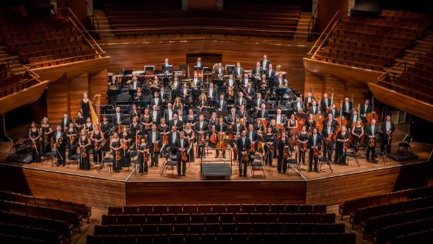 The NZSO released its performance on Thursday with a message to the prime minister's baby