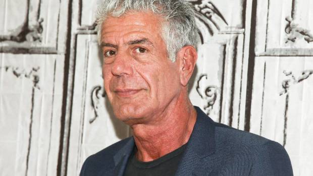 Anthony Bourdain wins all six Emmy nominations, including first for outstanding writing
