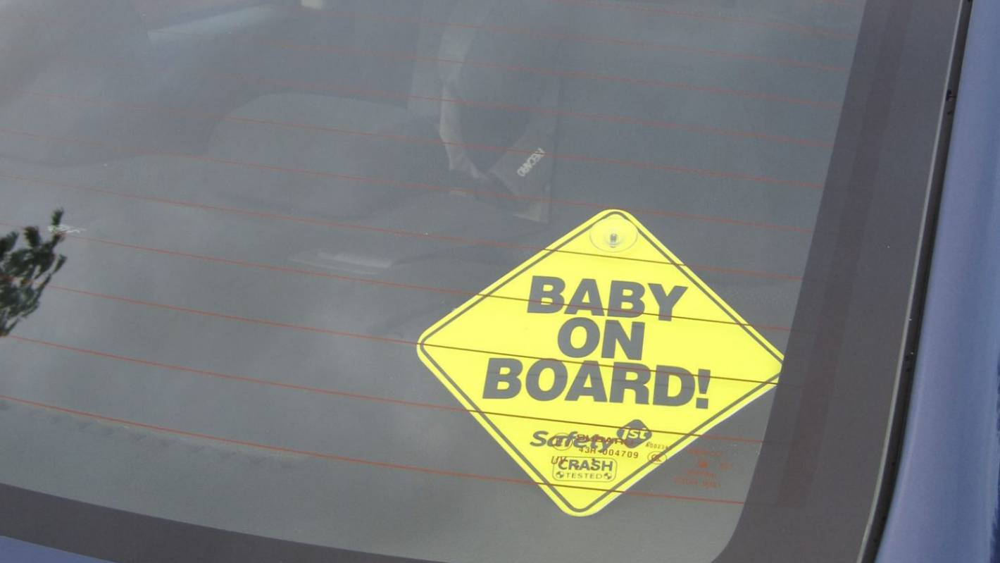 What those baby on board signs are really for