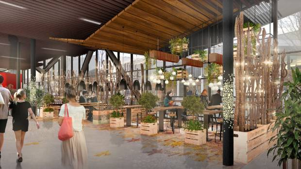 Christchurch's new Hoyts multiplex looking for more eateries