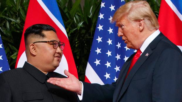 Trump declares North Korea 'no longer a nuclear threat'