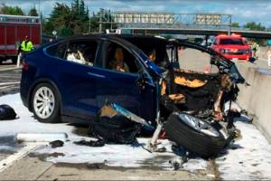 Walter Huang was killed when his Tesla Model X crashed into a barrier in California two years ago.