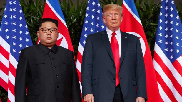 US President Donald Trump met with North Korean leader Kim Jong Un on Sentosa Island in Singapore in June