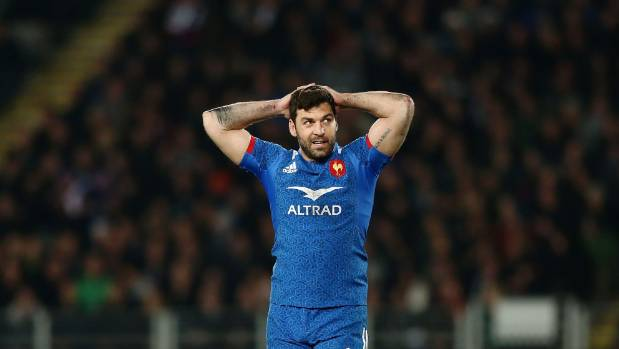 Kevin Gourdon is relishing the chance to take on the All Blacks again.