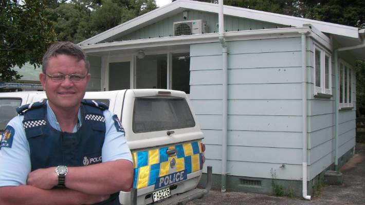 Senior Constable Dave Kirk has left Pongaroa after working there for 16 years (file photo).