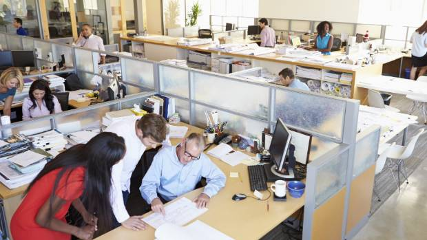 Hot-desking allows better use of space.