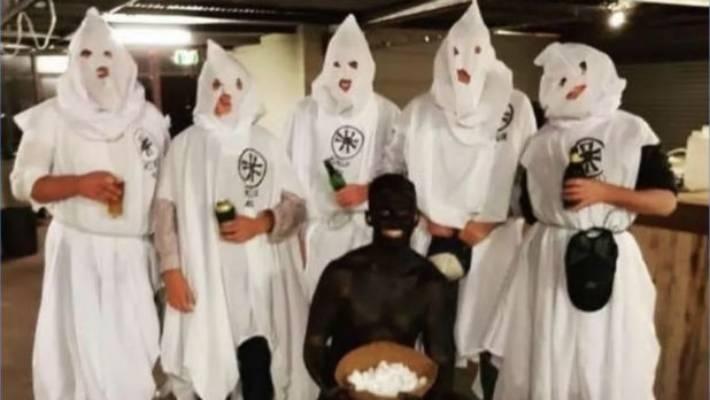 Kkk Halloween Costume Amazon.Anger As Australian Students Dress As Ku Klux Klan And A Cotton
