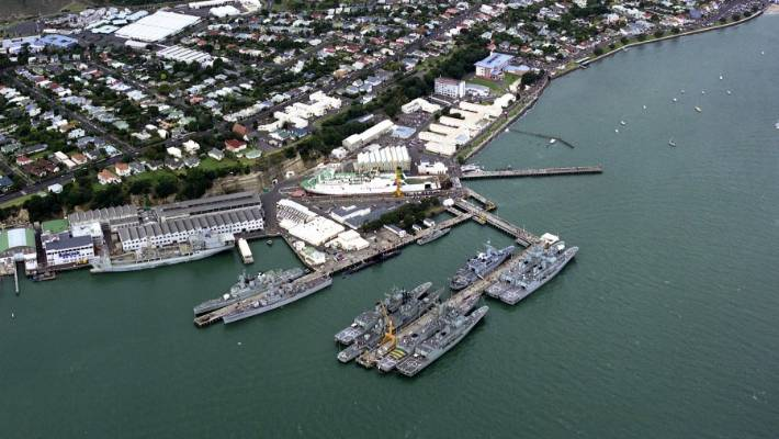 The sailors were caught dealing at Devonport Naval Base on Auckland's North Shore.