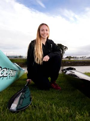 Hannah Baker, 17, has been selected to represent New Zealand at the Sanyo Cup and ICF Canoe Sprint Junior and Under 23 ...
