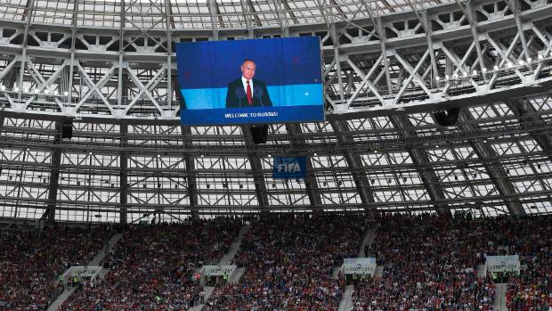 What Vladimir Putin wants out of the Russia 2018 Fifa World Cup