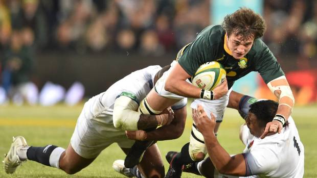 Springbok lock Franco Mostert is the cornerstone of the Lions second row