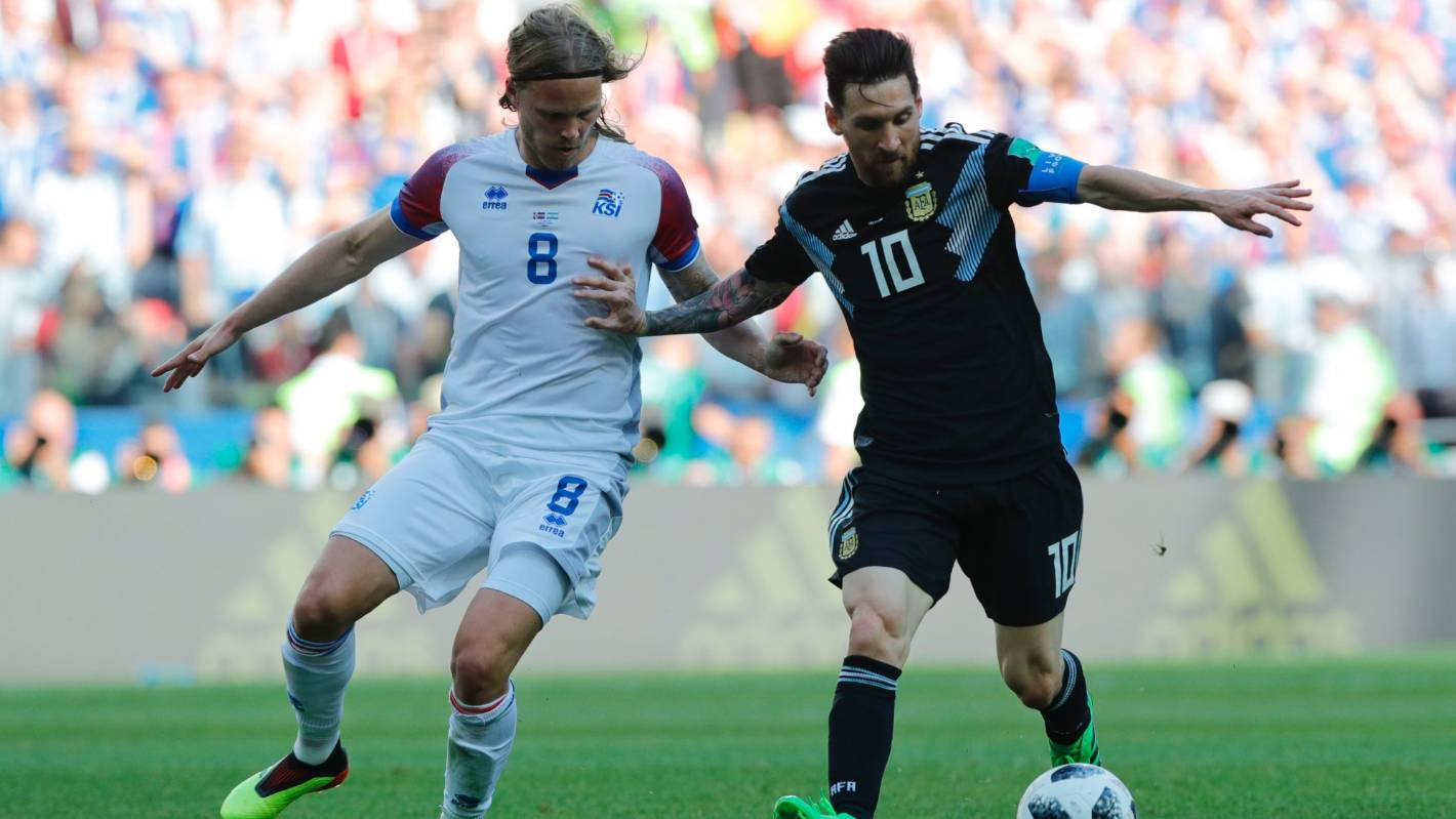 Tiny Iceland neutralise Lionel Messi and Argentina as giantkillers strike  again  a858dc8d26a7a