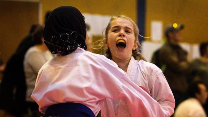 Everybody was karate fighting when the Manawatū martial arts