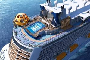 Spectrum of the Seas is custom built for the Chinese market.