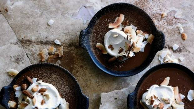 Paleo chocolate pudding by Pete Evans.