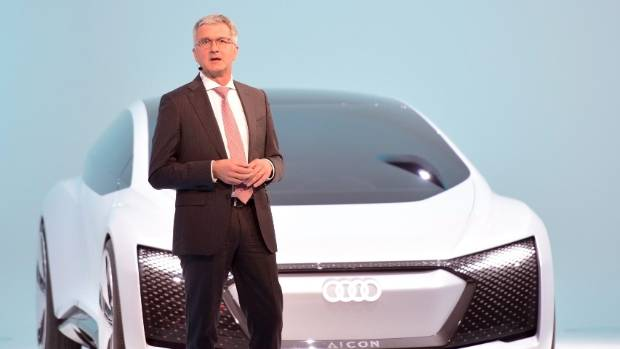 VW names Bram Schot as interim Audi CEO
