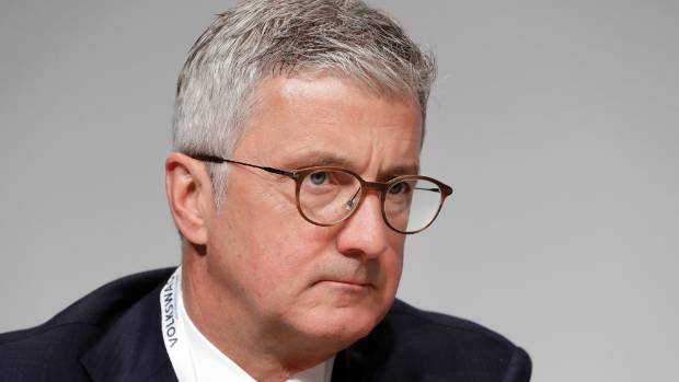 Audi CEO Stadler Taken Into Custody in Diesel-Cheating Probe