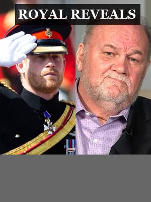 Prince Harry and Thomas Markle