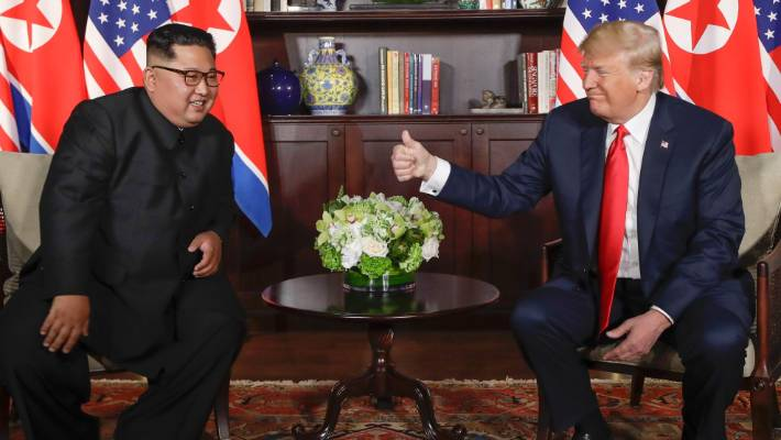 Trump says hopes to meet N.Korea's Kim in January or February