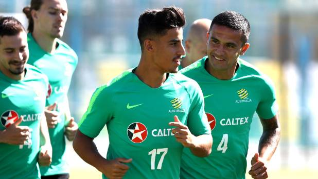 Impressive Socceroos held to 1-1 draw with Denmark