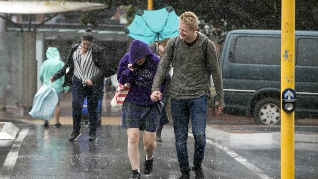 Heavy rain and thunderstorms are expected for a large part of the country on Monday.