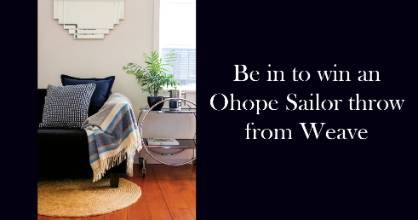 Click on the link below to win this throw from Weave.