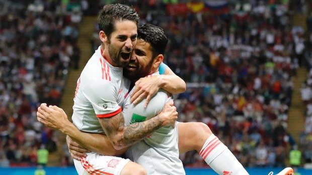 Iran v Spain 20 June 2018