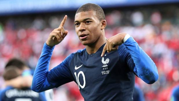 France's Kylian Mbappe was incredible against Argentina