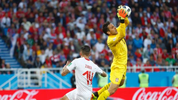 Shaqiri late Switzerland victor sinks Serbia