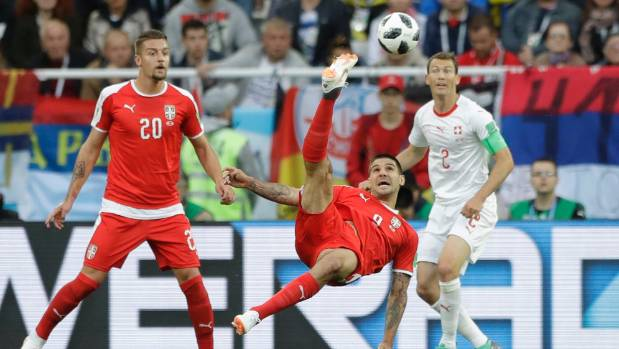 Switzerland hero Xherdan Shaqiri coy on politically-charged celebration