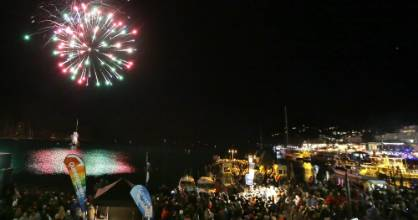 Queenstown Winter Festival Fireworks announce the opening of the popular annual party.