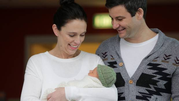 Zealand PM Jacinda Ardern hopes for new world for daughter Neve