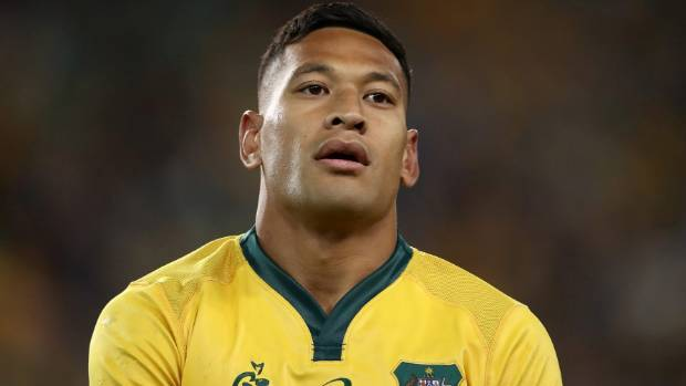 Wallaby Folau banned for one match