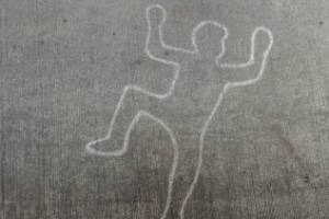 My favourite prank was when I made a chalk outline of a body on my neighbour's property and put up some crime scene tape.