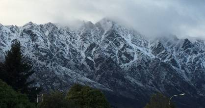 Snow is expected to fall to 400m in Central Otago on Tuesday evening and 300m further north to Kaikōura.