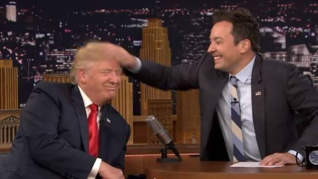 Jimmy Fallon responds to Donald Trump's tweet in anti-Trump monologue