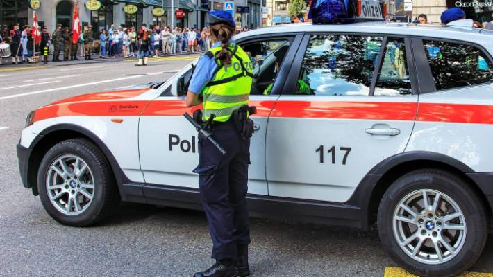 Swiss police arrest woman, 75, over fatal stabbing of child