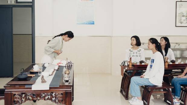 Chinese teen college drunk having — 2