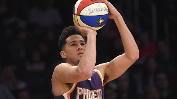Phoenix Suns' guard Devin Booker likely out until training camp