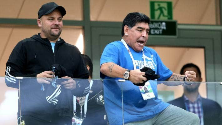 Argentina Legend Diego Maradona Says He S Fine After His Collapse Stuff Co Nz