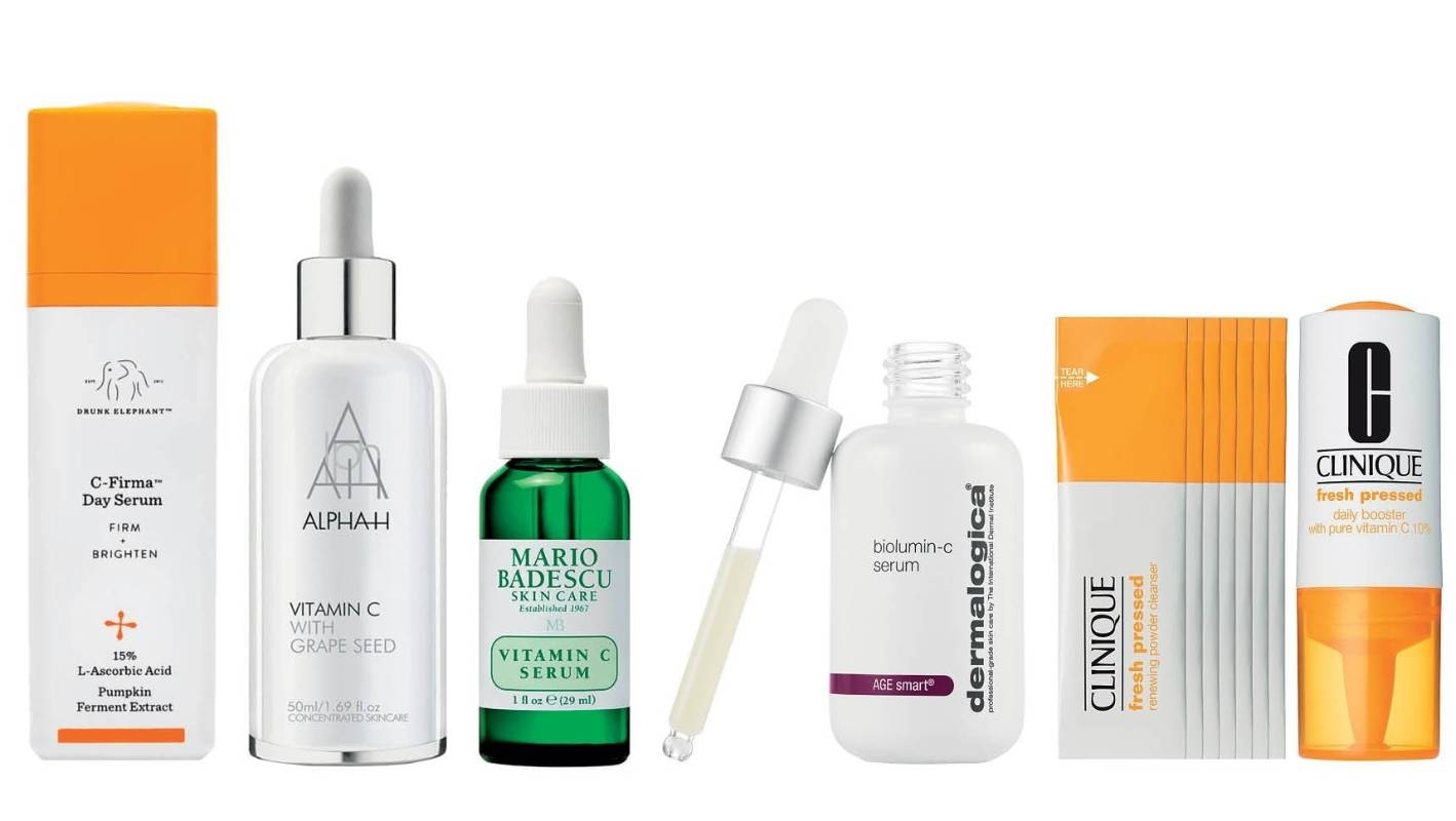 Vitamin C: The beauty product that actually does what it