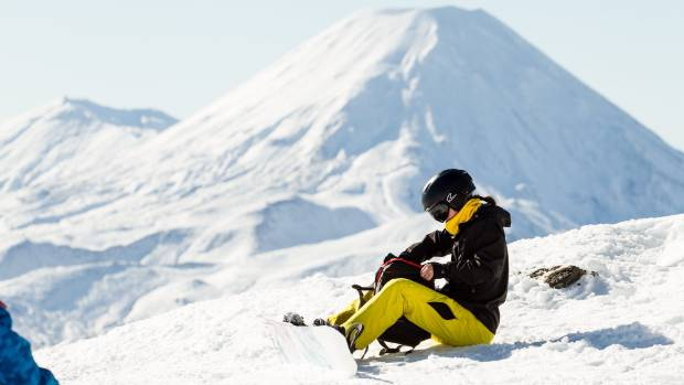Fresh dumps of snow welcomed record numbers of skiers, boarders to Mt Ruapehu, as well as families with kids just looking for a snowball fight.