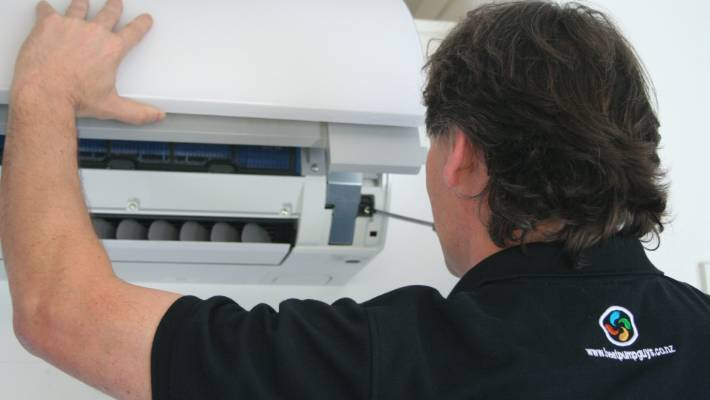 Heat pumps are one of New Zealand's three big domestic power users (File photo).