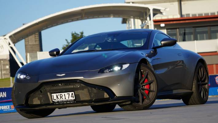 Aston Martin Vantage Goes From Old School To New Gen Cool Stuff Co Nz