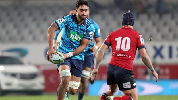 Blues forward Akira Ioane made one appearance for the All Blacks against a French XV in Lyon last year.