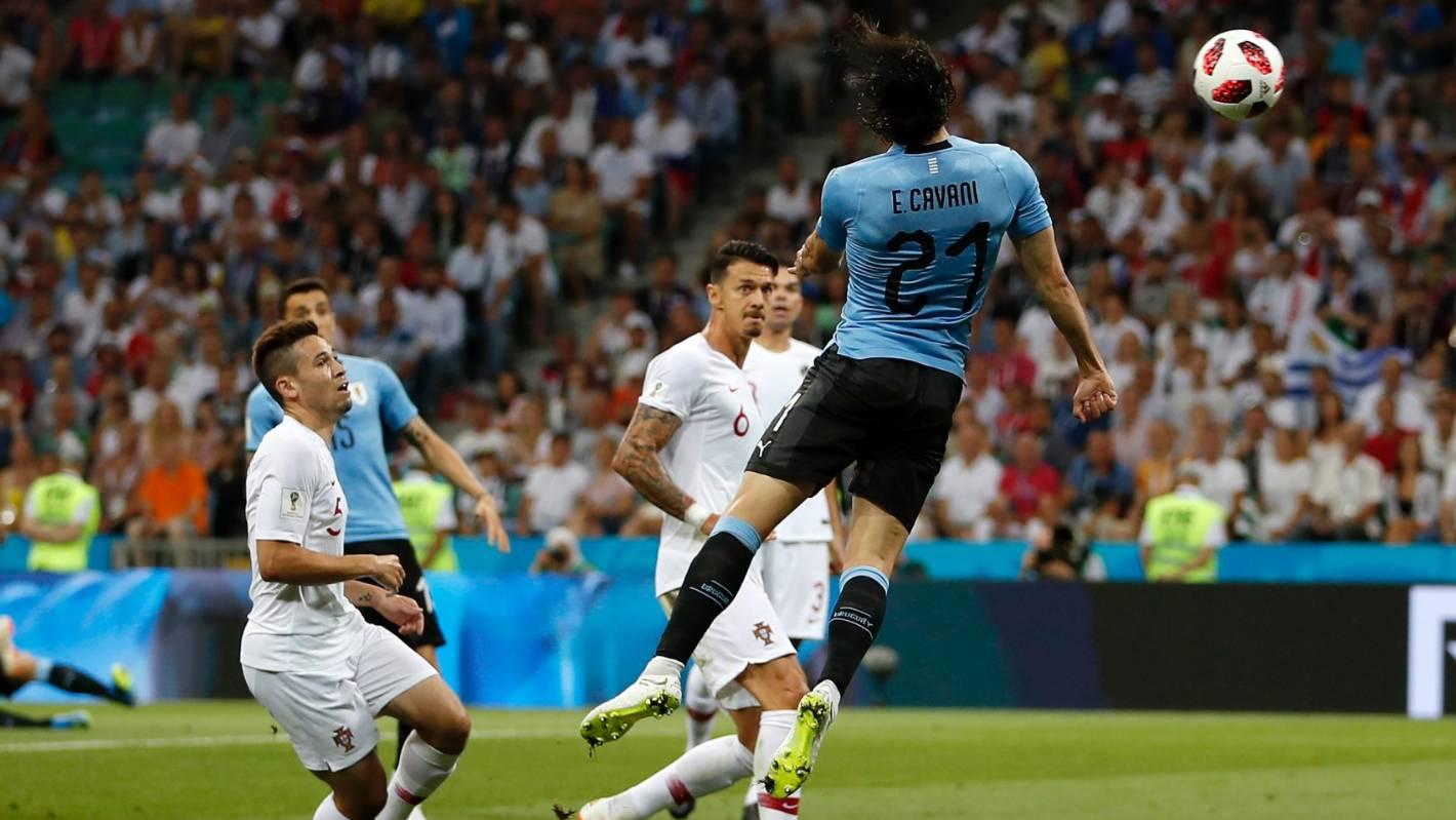 06b2723add5 Recap: Uruguay v Portugal - Round of 16: Russia 2018 Fifa World Cup |  Stuff.co.nz